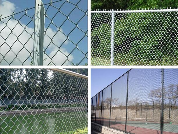 Galvanized Chain Link Fence2